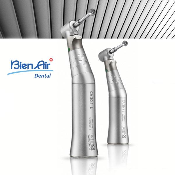 Contre angle implantologie bague Verte Bien Air CA20:1L