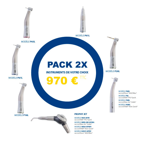 Pack 2 instruments Codent