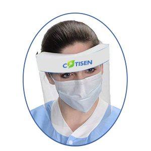 ecran facial protecteur(fonction: anti - buée, étanche)