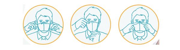 Masque FFP2 - KN95 Coronavirus